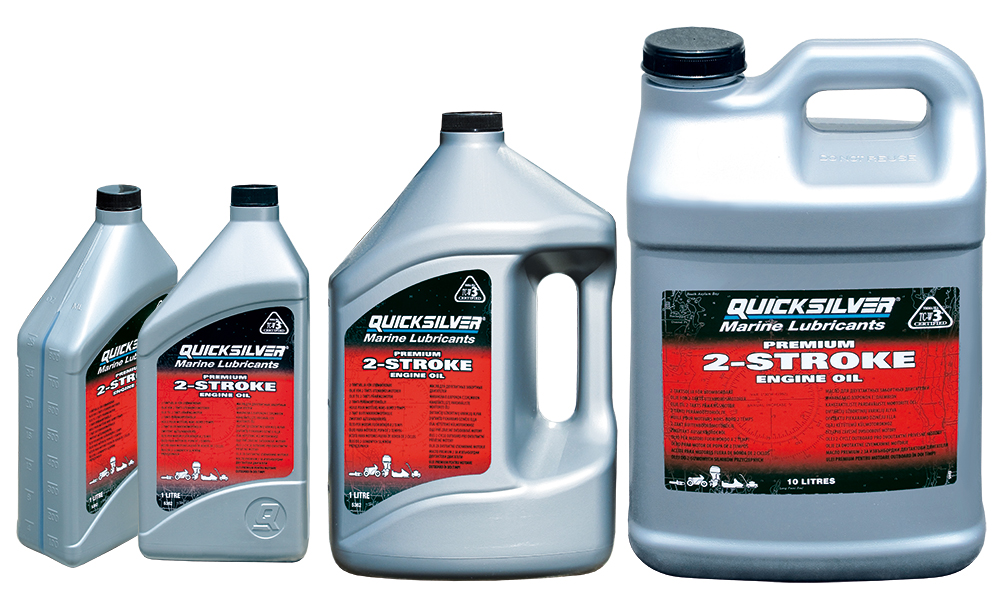QUICKSILVER PREMIUM TC-W3 OIL FOR 2 STROKE OUTBORD ENGINES