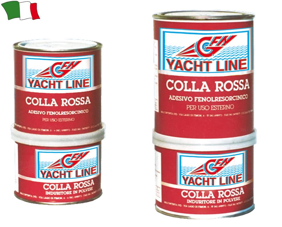 Colla rossa marina g f n gibellato forniture nautiche for Gibellato nautica