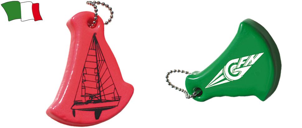 Floating Sailing Boat Shaped Keyring G F N Gibellato Forniture