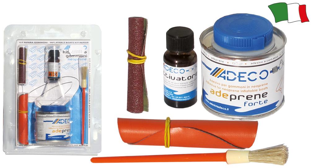 Kit riparazione battelli pneumatici in neoprene g f n for Gibellato nautica