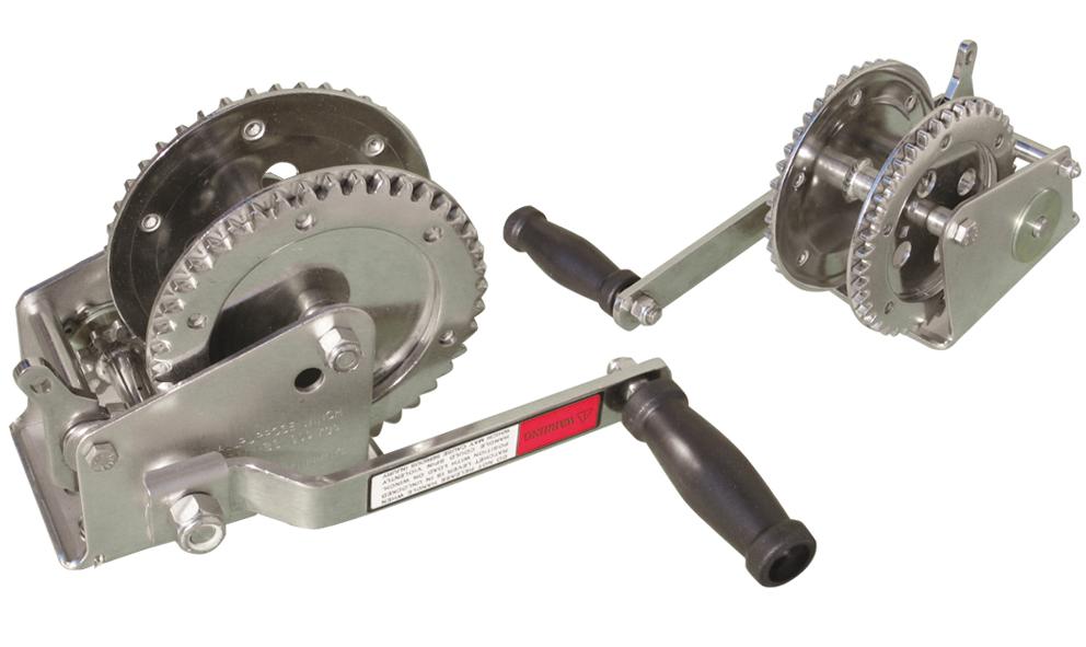 Argano manuale in acciaio inox g f n gibellato for Gibellato nautica
