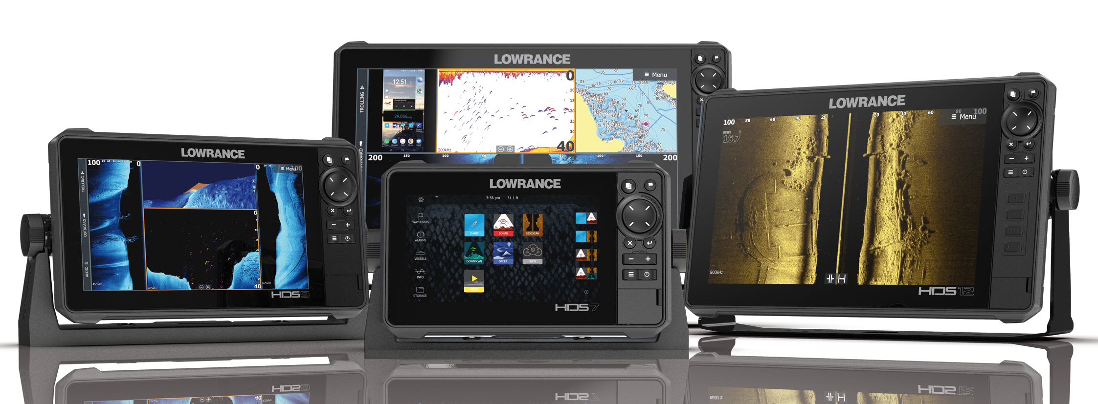 LOWRANCE HDS LIVE CHIRP COMBO - G F N  Gibellato Forniture