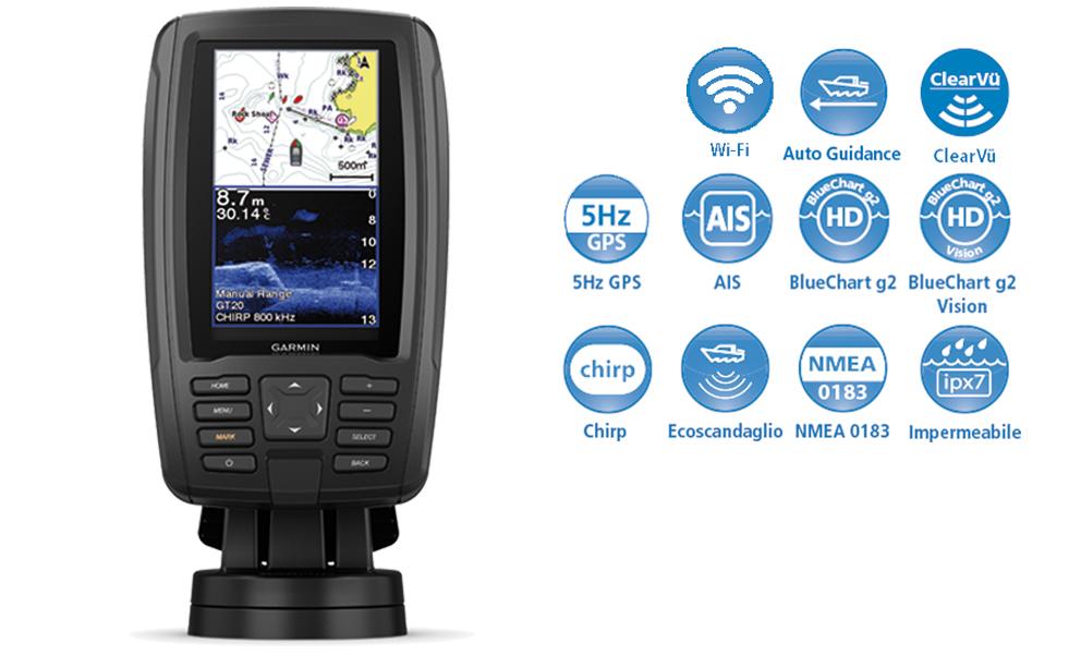GARMIN ECHOMAP PLUS GPS - G F N  Gibellato Forniture Nautiche