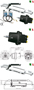 Ultraflex Hydraulic Steering System For Outboard Engines Up To 150 1996 Hp Evenrude Hose Diagrams Outboards 115