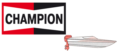 CHAMPION spark plugs for outboard engines
