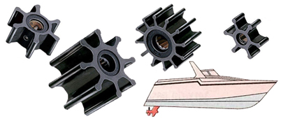 Impellers for inboard engines