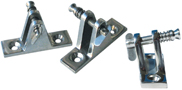 FLAT DECK HINGE WITH REMOVABLE PIN