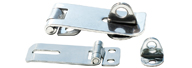 STAINLESS SEEL LATCH WITH PADLOCK HOLDER