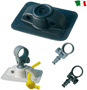 ROWLOCK SOCKET FOR INFLATABLE BOATS