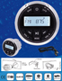 BLUETOOTH H833 AM/FM, MP3 AND USB RECEIVER