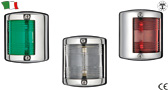 STAINLESS STEEL NAVIGATION LIGHTS UP TO 12 METERS