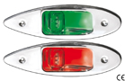 FLUSH MOUNT NAVIGATION LED LIGHTS MADE OF STAINLESS STEEL