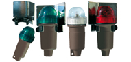 SET OF NAVIGATION LIGHTS