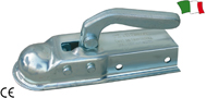 SQUARE FITTING TRAILER COUPLING HEAD