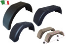 PLASTIC MUDGUARD FOR TRAILERS
