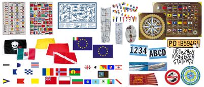 Flags and codes