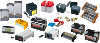 Electric Energy – Battery chargers – Inverters - Batteries