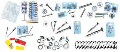 Stainless steel A2 screws (AISI 304)