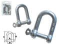 GALVANIZED STEEL SHACKLES