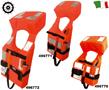 LIFE JACKETS MED - IMO MSC 200 (80) APPROVED