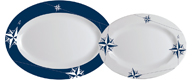 NORTHWIND SET OF SERVING PLATES