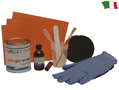 BICOMPONENT ULTRA PROFESSIONAL REPAIRING KIT FOR INFLATABLE BOATS