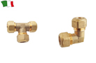 BRASS CONNECTOR FOR COPPER PIPES