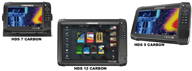 COMBINATI LOWRANCE HDS CARBON TOUCH