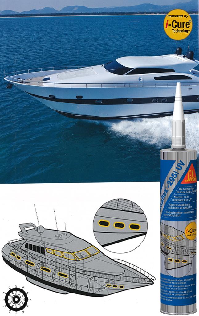 Sikaflex 295i uv g f n gibellato forniture nautiche for Gibellato nautica