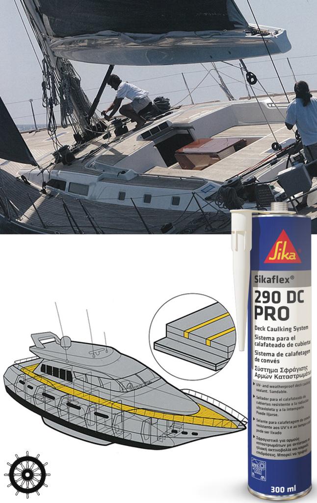 Sikaflex 290i dc g f n gibellato forniture nautiche for Gibellato nautica