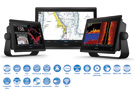 GPS GARMIN GPSMAP8400 MULTI-TOUCH