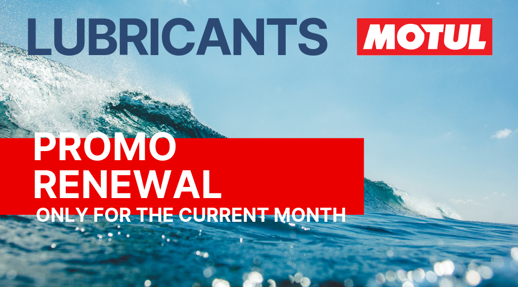 LAST DAYS! MOTUL LUBRICANTS PROMO