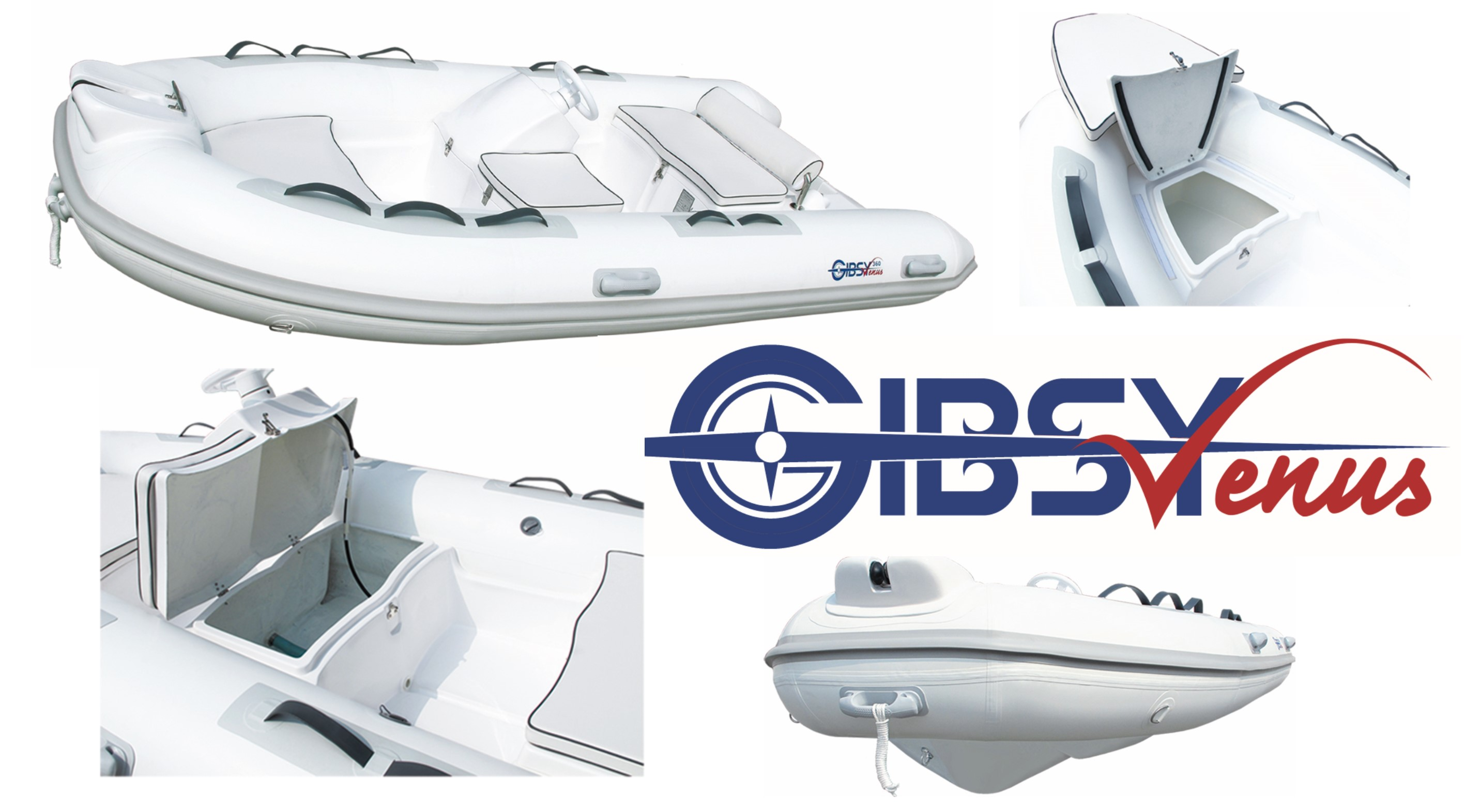 Gibsy 290 - 320 - 360 VENUS inflatable boat
